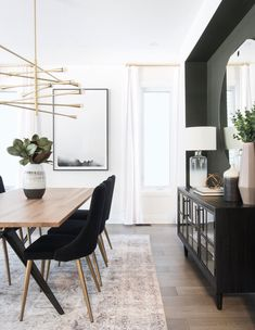 Modern and inviting formal dining space by Ottawa interior design firm Leclair Decor. Modern and inviting formal dining space by Ottawa interior design firm Leclair Decor. Room Interior, Interior Design Living Room, Living Room Decor, Bedroom Decor, Bedroom Furniture, Dining Room Inspiration, Home Decor Inspiration, Decor Ideas, Classic Home Decor