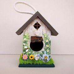 Garden Cottage Mini Birdhouse