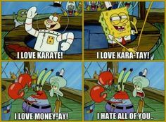 """""""Spongebob Squarepants"""" As Told From Squidward's Perspective Related Post One of the best Spongebob quotes of all time.c… 17 Times """"SpongeBob SquarePants"""" Was T. Funny Spongebob Memes, Funny Jokes, Squidward Meme, Spongebob Spongebob, Spongebob Patrick, Pineapple Under The Sea, Fandoms, Spongebob Squarepants, Cool Cartoons"""