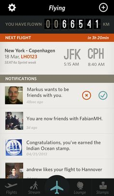 1 | An iPhone Flight App Straight Out Of The Pan Am Era | Co.Design: business + innovation + design