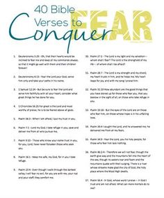 40 Bible Verses to Conquer Fear - Elisa Pulliam: Equipping Women . Bible Verses About Fear, Marriage Bible Verses, Bible Prayers, Bible Verses Quotes, Bible Scriptures, Scripture For Fear, Verses On Fear, Bible Verses On Forgiveness, Bible Verses About Relationships