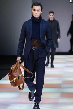 Armani Menswear // Fall 2015