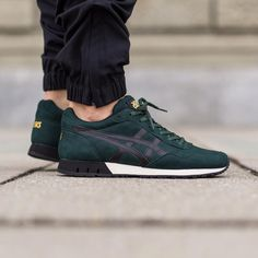 Onitsuka Curreo: Dark Green/Black