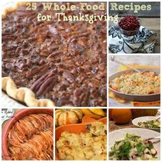 25 WHOLE FOOD RECIPES FOR THANKSGIVING | #healthy #Thanksgiving #recipes #vegetables #plant_based #eatclean #vegan #glutenfree #gf
