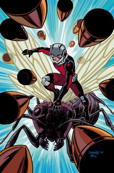 Ant-Man #1 cover by Mark Brooks, variant covers by Jason Pearson and Chris Samnee
