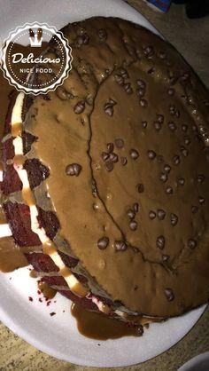 Red Velvet  +  Chocolate Cake