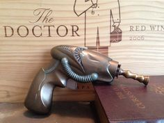 Upcycled Steampunk Prop Pistol on Etsy, $18.00
