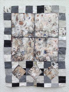 Mark Lomax, aluminium quilt