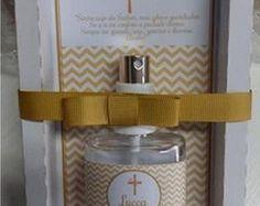 Kit Batismo - água benta ou aromatizador