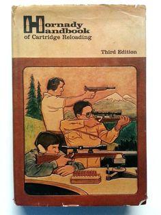Hornady Handbook Cartridge Reloading Manual Third Edition Rifle Pistol 1980 HB #Hornady