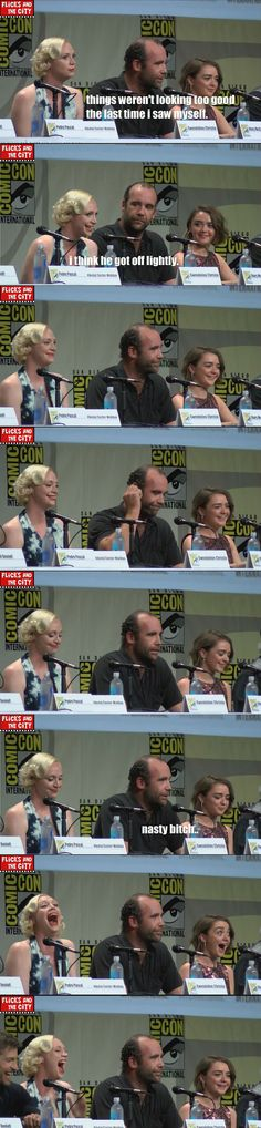 the hound at comic con