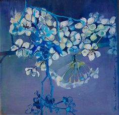 ❀ Blooming Brushwork ❀ - garden and still life flower paintings - Paula Van Coller | Chappies Blossom 2