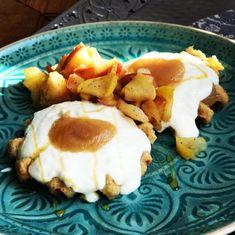 Metabolic Balance | » Jogurtovo-ovesné vafle s teplými jablky Metabolic Balance, Pancakes, Breakfast, Food, Morning Coffee, Essen, Pancake, Meals, Yemek
