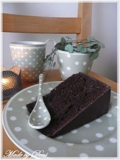 Made by Deni: . Culinary Arts, Food Hacks, Food Tips, Chocolate Cake, Food And Drink, Pudding, Ale, Baking, Tableware