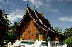 (ordination hall) Wat Xieng Thong temple, Luang Prabang, Laos