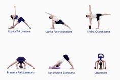 B K S Iyengar - Iyengar Yoga - Asanas - Standing Asanas2