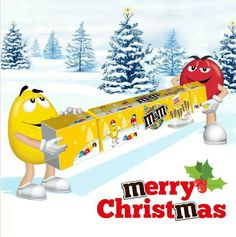 Merry Christmas M&m Characters, Fictional Characters, Melt In Your Mouth, Ms, Merry Christmas, Lettering, Holiday, Pictures, Candies