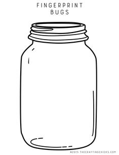 Free Printable Mason Jar One With A Label And Without