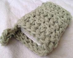 Thick Crochet Soap Saver Sweater or Sachet PDF Pattern