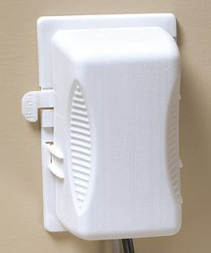 White Outlet Plug Cover - Set of Two