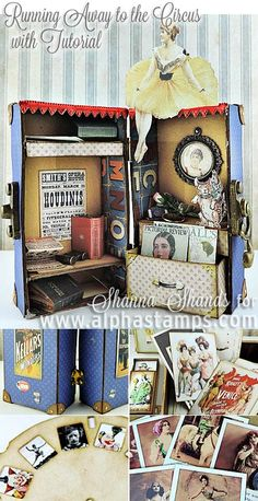 Alpha Stamps News » New Box Feet, Tiny Charms, Chipboard SALE & Tutorial!