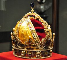 Crown of the Austrian Empire Austrian Imperial Treasury - Vienna by mbell1975, via Flickr