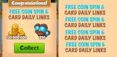 Coin Master Free Coin Daily Links - Daily Free Spin and Coins - Coin Master Free Coin Daily Links - Coin master game is very trending among all the group of generations. People are eagerly waiting for Coin master daily free spin and daily reward link. Daily Rewards, Free Rewards, Miss You Gifts, Coin Master Hack, Bookmark This Page, App Hack, News Apps, Coin Collecting, New Tricks