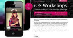 iOS Workshops. #webdesign