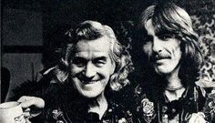 1974, George and his dad, Harold