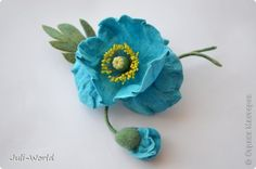 Меконопсис (голубой мак) фото 5 Felt Brooch, Felt Flowers, Elsa, Crochet Earrings, Jewelry, Felting, Felted Flowers, Jewlery, Jewerly
