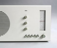 Designed by Dieter Rams for Braun