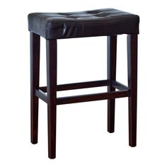 Have to have it. Palazzo 29 Inch Saddle Bar Stool - Black $49.98