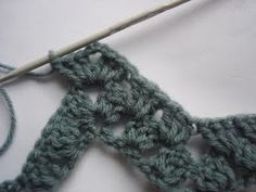 how to crochet some granny ripples.