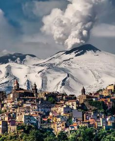 Our Nature, Our Planet🌍: Etna Volcano 🌋 Sicily italy 🇮🇹 Photograph By Places To Travel, Places To Visit, Best Places In Italy, Italy Landscape, Seen, Sicily Italy, Great Vacations, Visit Italy, Italy Vacation