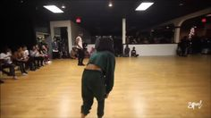 Kaelynn Harris dancing to WTF (Where They From?) by Missy Elliott ••• I think I'm in love. She's fucking amazing