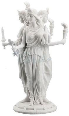 Hecate Greek Goddess of Magic & Witchcraft Statue #GreekHistory