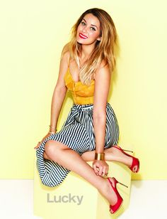 Can't wait for warmer weather to sport cute stripes like Lauren Conrad in Lucky