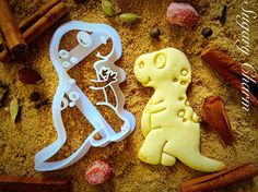 Dinosaur Trex cookie cutter by SugaryCharm on Etsy https://www.etsy.com/listing/223556711/dinosaur-trex-cookie-cutter