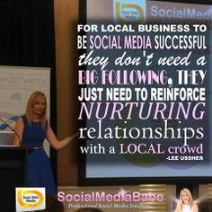 #LocalBusiness: focus on listening & delivering to local networks to do #socialmedia well - not on collecting numbers #Like #FacebookLikes #TwitterFollowers