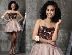 Outro vestidinho que ficaria lindo na formatura. E o mais legal é que esse vestido foi usado em um Look Formatura da Terceira Temporada de Moda Capricho!