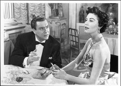 "Edmund O'Brien and Ava Gardner in ""The Barefoot Contessa"" (1954) Edmund O'Brien - Best Supporting Actor Oscar 1954"