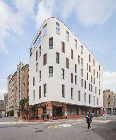 Building Facade, Building Design, French Architecture, Facade Design, Architect Design, Brick, Street View, Exterior, House
