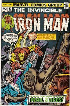 BRONZE AGE 1976 IRON MAN #82 MARVEL COMICS RED GHOST