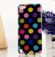 iPod Touch 5 - Catchy, Brilliant Polka Dots on Soft Case - Thumbnail 4