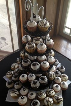 Just Cupcakes Wedding Cake