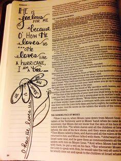 Doing Her Best to Live Like Jesus Everyday Exodus Bible, My Bible, Bible Art, Bible Verses, Exodus 34, Bible Crafts, Bible Journaling For Beginners, Bible Study Journal, Art Journaling