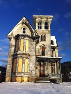 "Built in 1827, the ""Old Hickory"" Tavern, Hotel, and Restaurant in Coudersport, PA has stood vacant for over 20 years..."