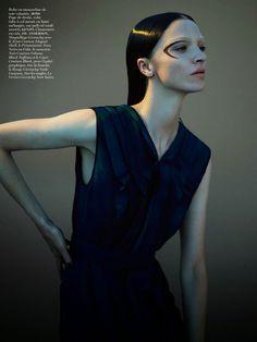 awesome Mariacarla Boscono por Mert & Marcus para Vogue Paris Novembro 2014  [Editorial]