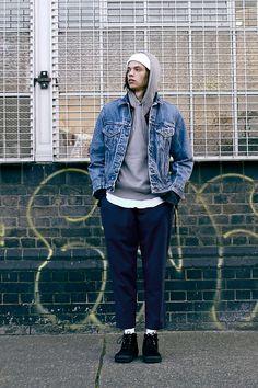 Urban Renewal Vintage Originals Levi's Denim Trucker Jacket