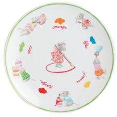 Beautiful children's dinnerware from Bernardaud